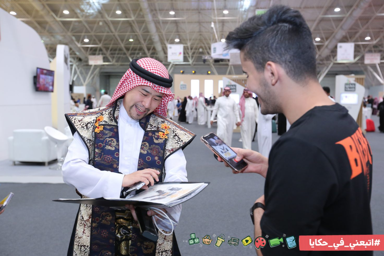 "33 Thousand Visitors on 3rd Day of ""Hakaya Misk"""