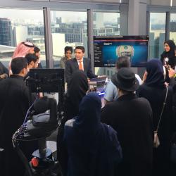 إنطلاق البرنامج التدريبي لمهارات العمل الصحفي المالي لطلاب وطالبات السعودية