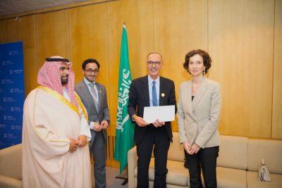 بالصوت والصورة.. الفن السعودي يستوقف ضيوف الأمسية في مقر اليونسكو